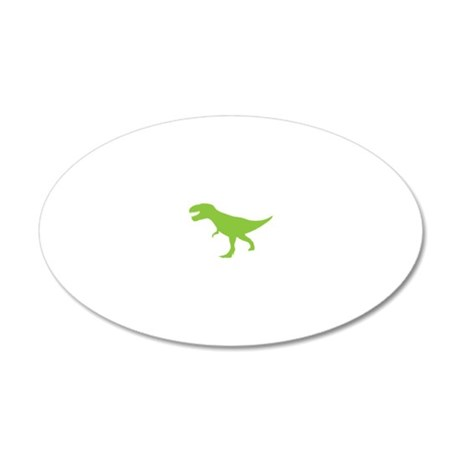 Tyrannosaurus Rex Dinosaurs 20x12 Oval Wall Decal