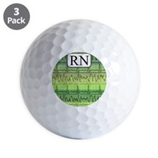 RN case green Golf Balls