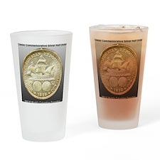 Worlds Columbian Exposition Half Do Drinking Glass