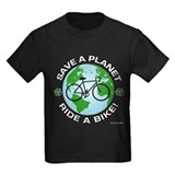 Save a Planet, Ride a Bike T