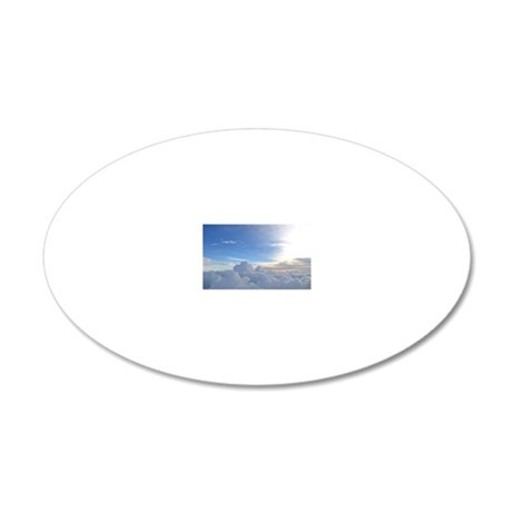 flymetothesky 20x12 Oval Wall Decal