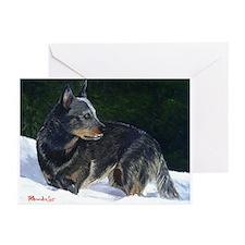 Australian Cattle Dog Greeting Cards