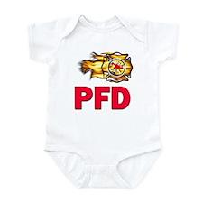 PFD Fire Department Onesie