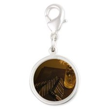 Classy Living Silver Round Charm