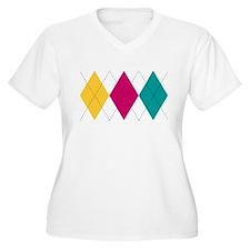 Bright Argyle T-Shirt