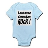Lacrosse Coaches Rock ! Infant Bodysuit