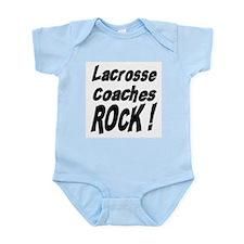 Lacrosse Coaches Rock ! Infant Bodysuit
