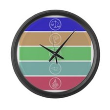 Divergent Factions Large Wall Clock