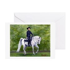 Arabian Western Pleasure Horse Greeting Cards