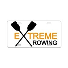 extreme rowing Aluminum License Plate