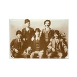 Butch Cassidy Sundance Kid Rectangle Magnet