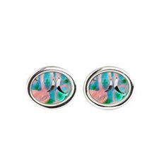 Flamingo party Cufflinks
