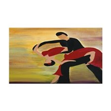 Ballroom Dancers Decal Wall Sticker