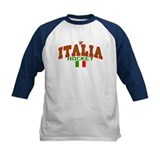IT Italy Italia Hockey Tee