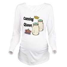 Canning Queen Long Sleeve Maternity T-Shirt