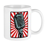 Shure 55S Vintage Microphone Coffee Small Mug