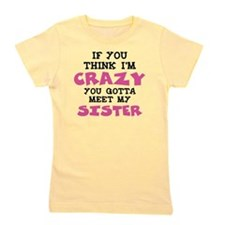 Crazy Sister Girl's Tee