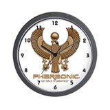 HORUS AS FALCON Wall Clock