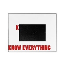Grandpas Know Everything Picture Frame