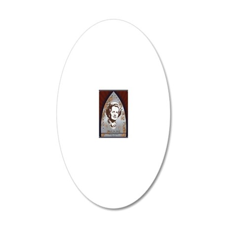 thatcher2-rih-CRDp 20x12 Oval Wall Decal