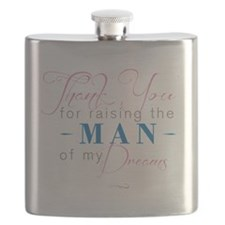 Thank You for Raising the Man Flask