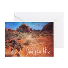 Find Your Bliss Greeting Card