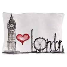 I love London Pillow Case