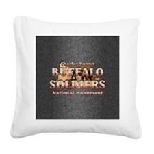 buffsoldiersnmsq Square Canvas Pillow