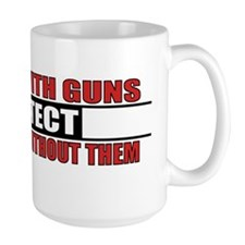 People With Guns Protect Mug