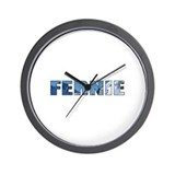 Fernie, British Columbia Wall Clock