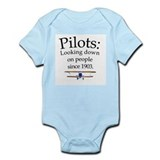 Pilots: Looking down on peopl Onesie
