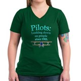Pilots: Looking down on peopl Shirt