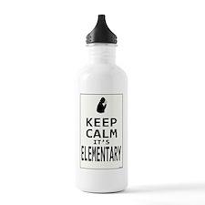 Keep Calm its Elementa Sports Water Bottle