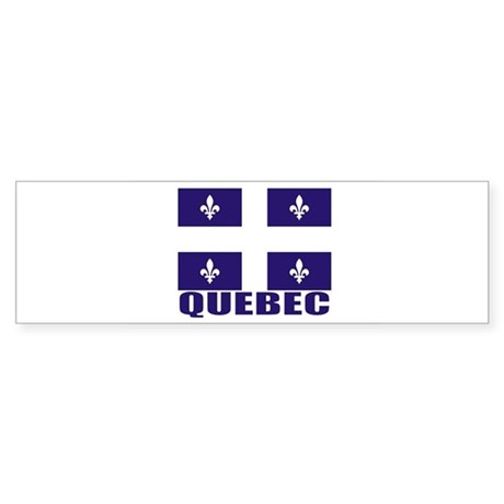 Quebec Bumper Sticker