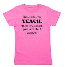 TEACHERS Girl's Tee