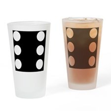 BLACK DICE 6 Drinking Glass