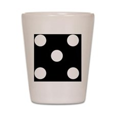 BLACK DICE 5 Shot Glass