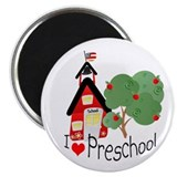"I Love Preschool 2.25"" Magnet (100 pack)"