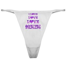 Love Love Dancing Classic Thong