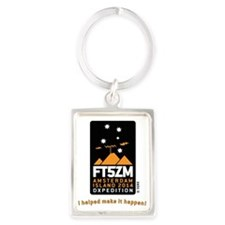 FT5ZM Vertical Supporter Portrait Keychain