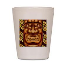 Happy Tiki Print Shot Glass