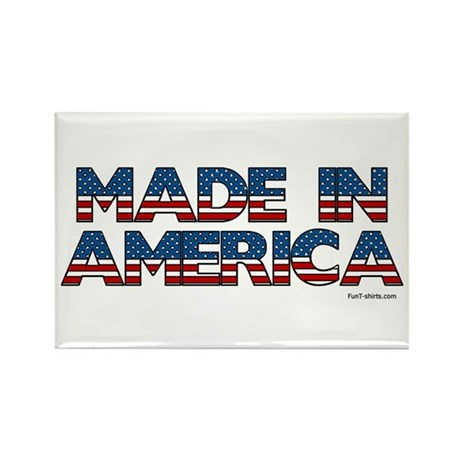 Made in America Rectangle Magnet (10 pack)