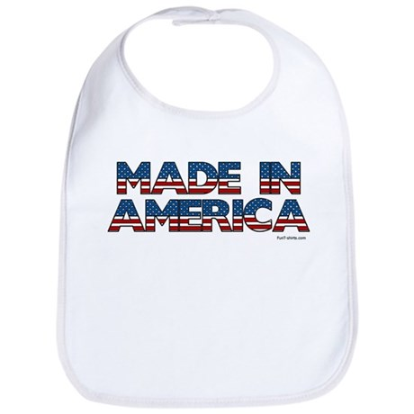 Made in America Bib