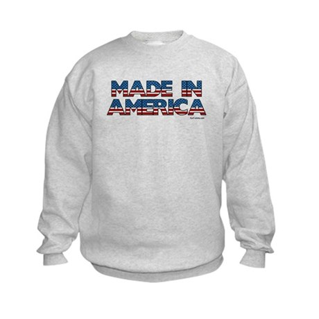 Made in America Kids Sweatshirt