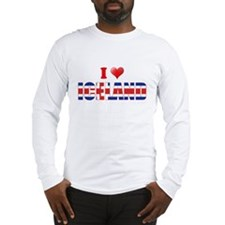 I love Iceland Long Sleeve T-Shirt