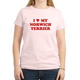 NORWICH TERRIER SHIRT NORWICH T-Shirt