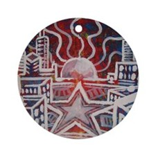 star city Round Ornament