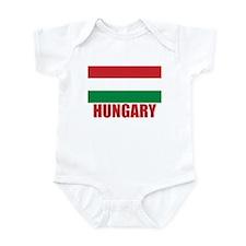 Hungary Flag Infant Bodysuit