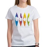 Kayakgirlz Women's Colorful Splatter Kayak T-Shirt