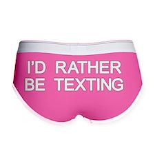 Texting Women's Boy Brief